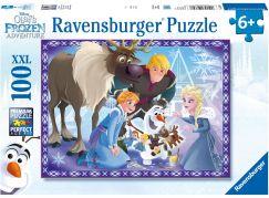 Ravensburger puzzle 107308 Olafovo dobrodružství 100 dílků