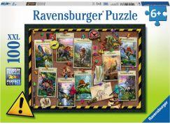 Ravensburger puzzle 108688 Dinosouří kolekce 100 XXL dílků