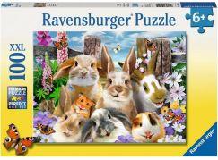 Ravensburger puzzle 109494 Zajícovo selfie 100 dílků
