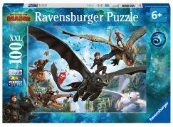 Ravensburger puzzle 109555 Jak vycvičit draka 3 100 dílků