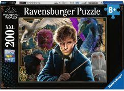 Ravensburger puzzle 126118 Fantastická zvířata 200 XXL dílků