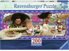 Ravensburger Puzzle 127443 Disney Moana: Dobrodružství  Vaiany 200 dílků