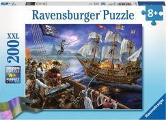 Ravensburger puzzle 127597 Černovousova bitva, 200 XXL dílků