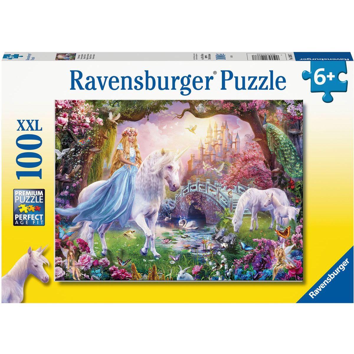 Ravensburger puzzle 128877 Magický jednorožec 100 XXL dílků