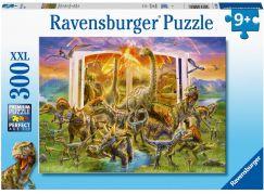 Ravensburger puzzle 129058 Encyklopedie dinosaurů 300 XXL dílků
