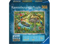 Ravensburger puzzle 129249 Exit Kids Puzzle Džungle 368 dílků