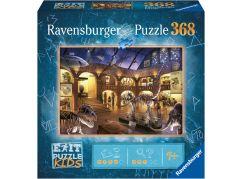 Ravensburger puzzle 129256 Exit Kids Puzzle Noc v muzeu 368 dílků