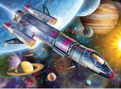 Ravensburger Puzzle 129393 Vesmírná mise 100 dílků