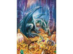 Ravensburger Puzzle 129409 Dračí poklad 100 dílků