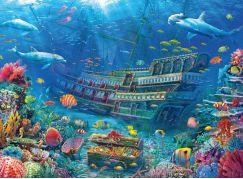Ravensburger Puzzle 129447 Podvodní objevování 200 dílků