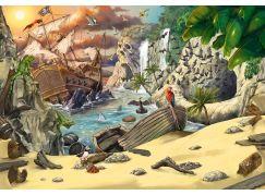 Ravensburger Puzzle 129546 Exit KIDS Puzzle Piráti 368 dílků