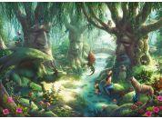 Ravensburger Puzzle 129553 Exit KIDS Puzzle V magickém lese 368 dílků