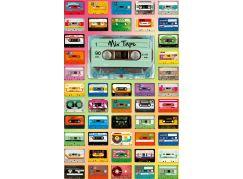 Ravensburger Puzzle 129621 Kazetový mix 200 dílků