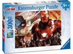 Ravensburger puzzle 132164 Kapitán Amerika vs. Iron Man 300 XXL dílků