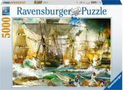 Ravensburger puzzle 139699 Velká lodní bitva 5000 dílků
