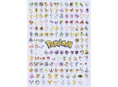 Ravensburger Puzzle 147816 Prvních 151 Pokémonů 500 dílků