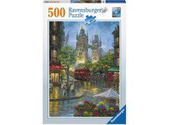 Ravensburger puzzle 148127 Malebný Londýn 500 dílků