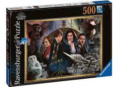 Ravensburger puzzle 148202 Fantastická zvířata 500 dílků