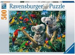 Ravensburger puzzle 148264 Koaly na stromě 500 dílků