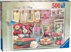 Ravensburger puzzle 148387 Čajový dýchánek 500 dílků