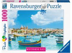 Ravensburger puzzle 149780 Malta 1000 dílků
