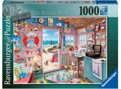 Ravensburger puzzle 150007 Plážová chata, můj ráj 1000 dílků