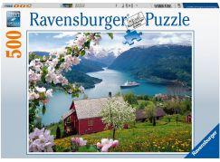 Ravensburger puzzle 150069 Krajina 500 dílků