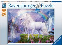 Ravensburger puzzle 150076 Kůň a duha 500 dílků