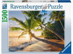 Ravensburger puzzle 150151 Prázdniny na pláži 1500 dílků