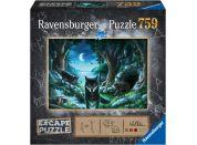 Ravensburger puzzle 150281 Exit puzzle: Vlk 759 dílků
