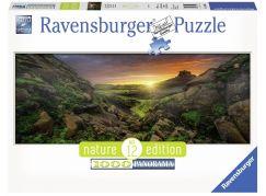Ravensburger Puzzle 150946 Panorama Slunce na Islandu 1000 dílků