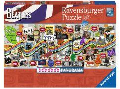 Ravensburger Puzzle 150960 The Beatles Během let; 1000 dílků