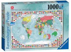 Ravensburger puzzle 152537 Portrét Země 1000 dílků