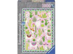 Ravensburger puzzle 152599 Lama Alpaca 1000 dílků