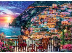 Ravensburger Puzzle 152636 Positano, Itálie 1000 dílků