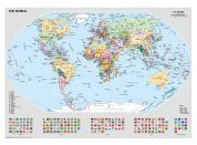 Ravensburger Puzzle 156528 Politická mapa světa 1000 dílků