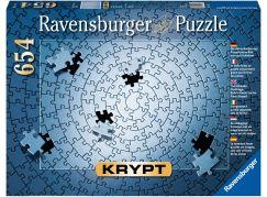 Ravensburger puzzle 159642 Krypt - silver 654 dílků