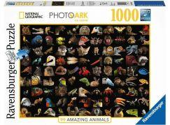 Ravensburger puzzle 159833 National Geographic Ohromující zvířata 1000 dílků
