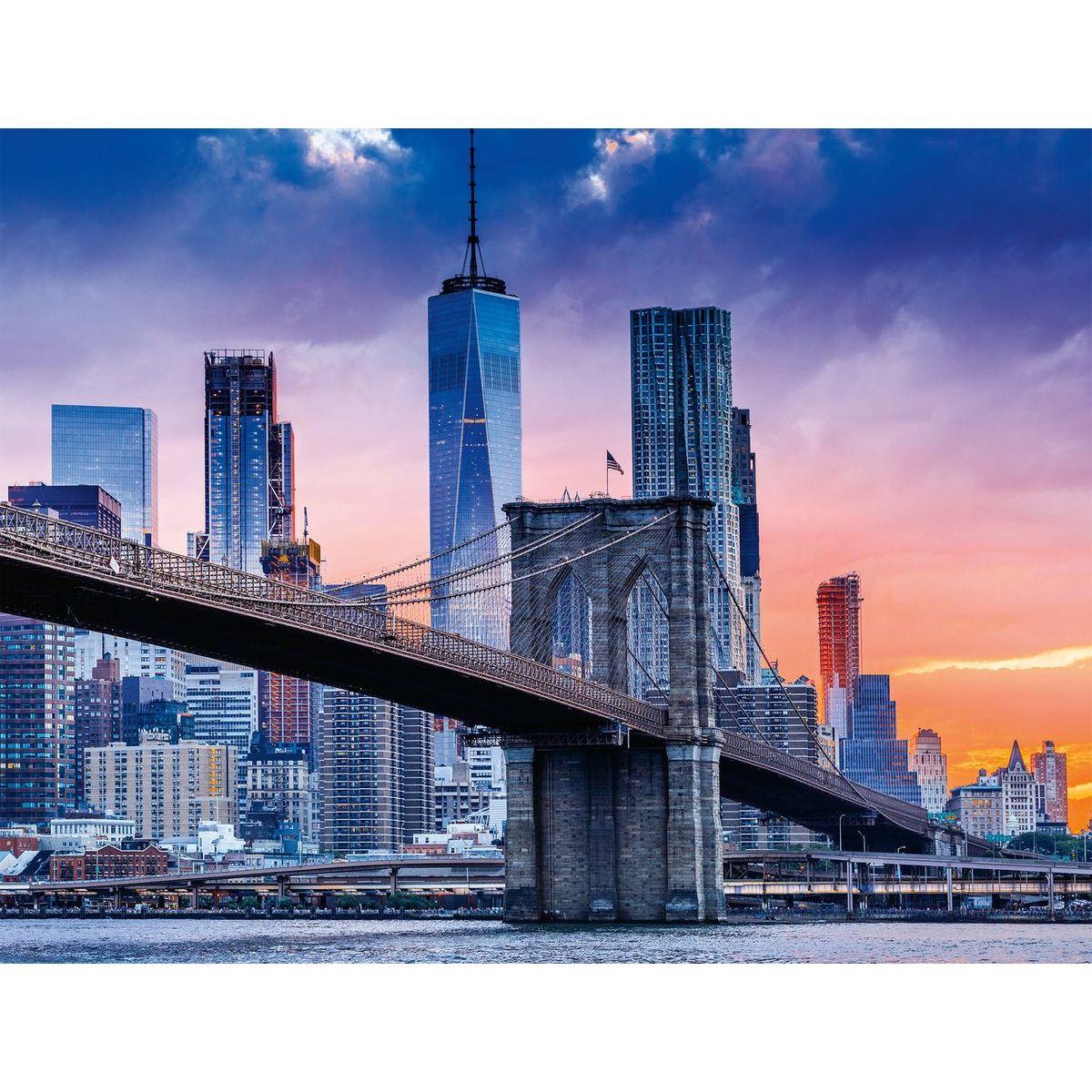 Ravensburger puzzle 160112 New York s mrakodrapy 2000 dílků