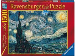 Ravensburger puzzle 162079 Vincent van Gogh: Starry Night 1500 dílků