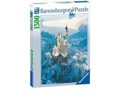 Ravensburger Puzzle 162192 Zámek Neuschwanstein v zimě 1500 dílků