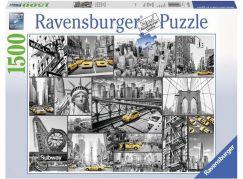 Ravensburger Puzzle 163540 New York taxi 1500 dílků