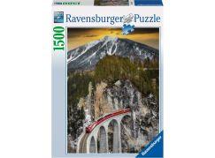 Ravensburger Puzzle 163588 Zimní kaňón 1500 dílků