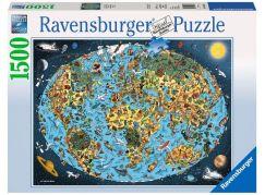 Ravensburger Puzzle 163601 Kreslená země 1500 dílků