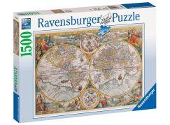 Ravensburger Puzzle 163816 Historická mapa 1500 dílků