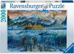 Ravensburger puzzle 164646 Chytrá velryba 2000 dílků