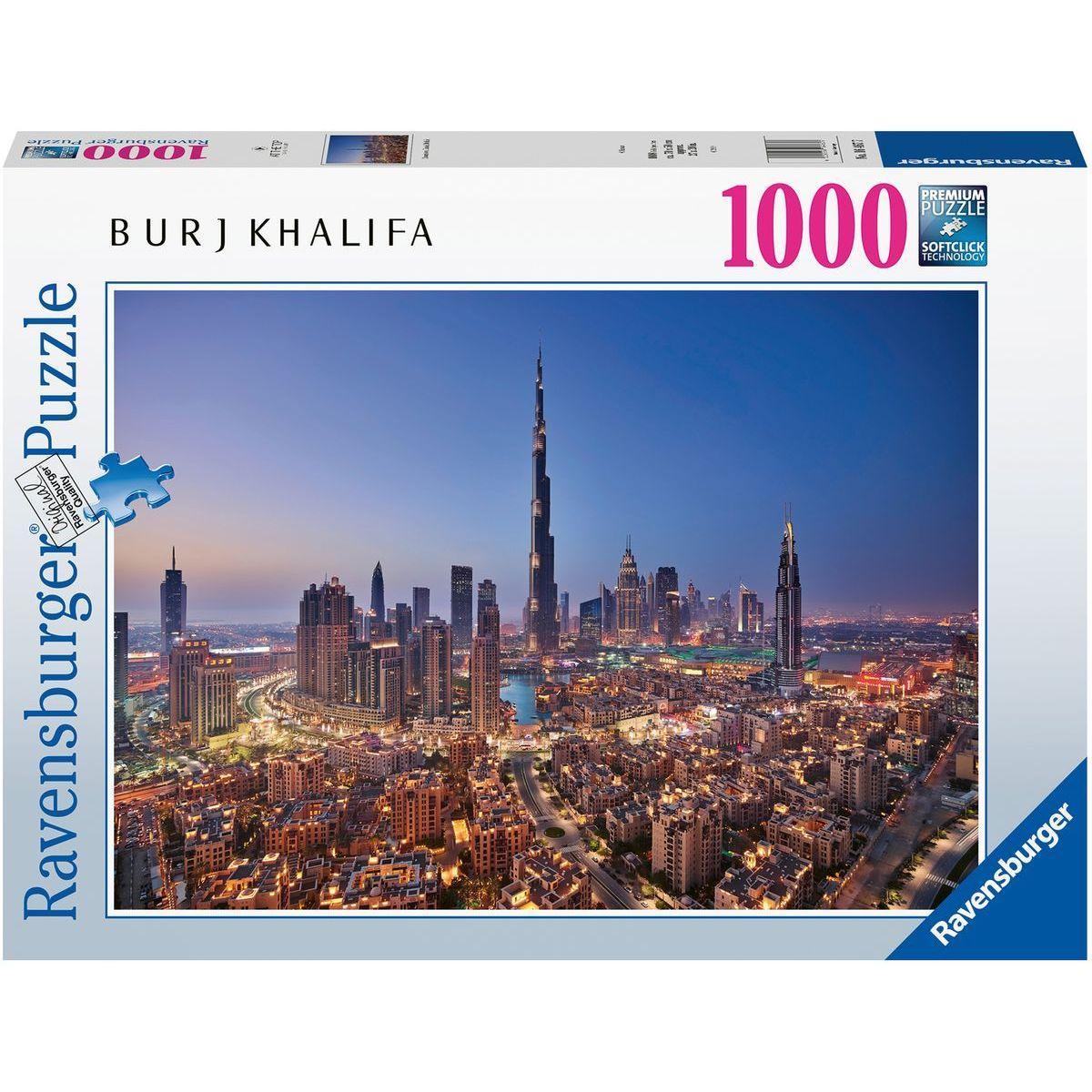 Ravensburger puzzle 164677 Dubai 1000 dílků