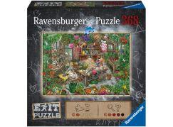 Ravensburger puzzle 164837 Exit Puzzle Skleník 368 dílků