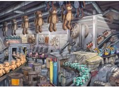 Ravensburger puzzle 164844 Exit Puzzle: V továrně na hračky 368 dílků