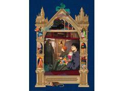 Ravensburger Puzzle 165155 Harry Potter Cesta do Bradavic 1000 dílků